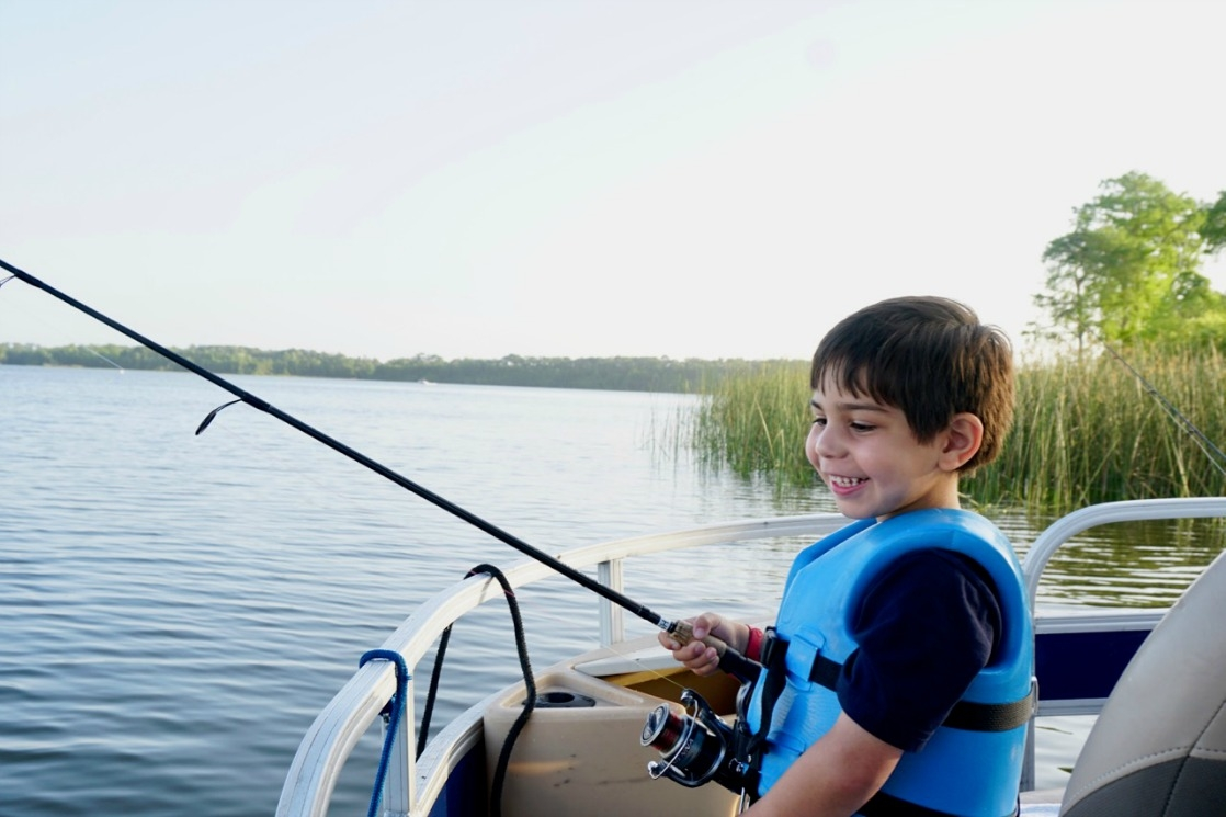Fishing at walt disney world with preschoolers the for Fishing at disney world